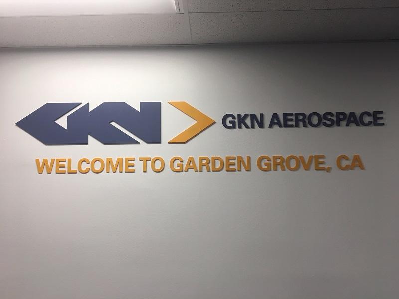 Custom 3D Lobby Logo Signs   Garden Grove PA