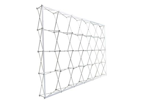 Fabric Pop Up Accordion Display Frame