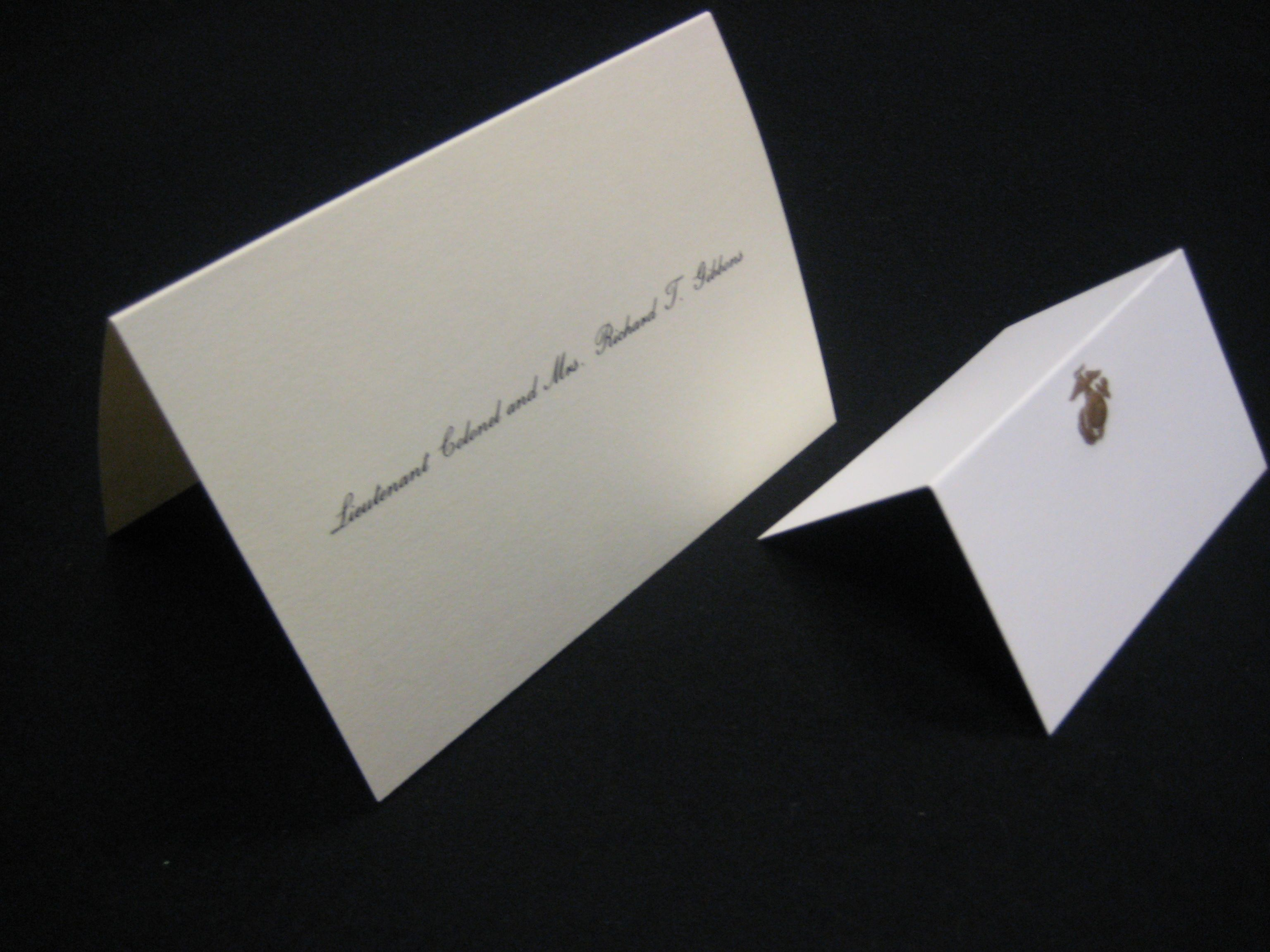 Fold Over Informals/Place Cards