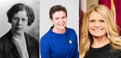 March 2021-Three Prominent Women in South Dakota