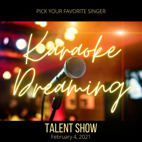 Karaoke Dreaming Virtual Talent Show