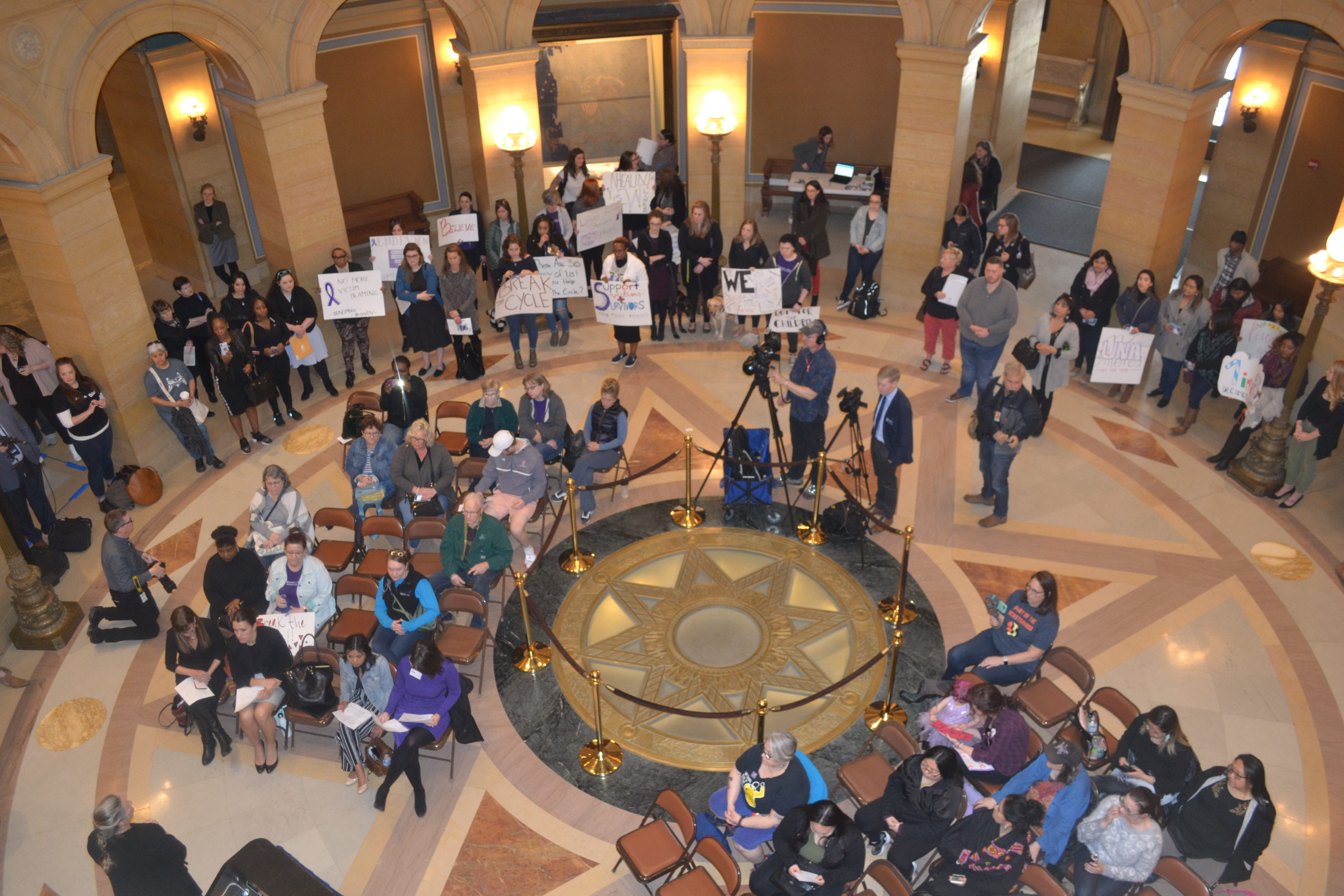 MCBW Day of Action, Capitol rotunda