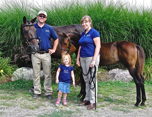 Jen Ray- MJ Warmbloods and Family
