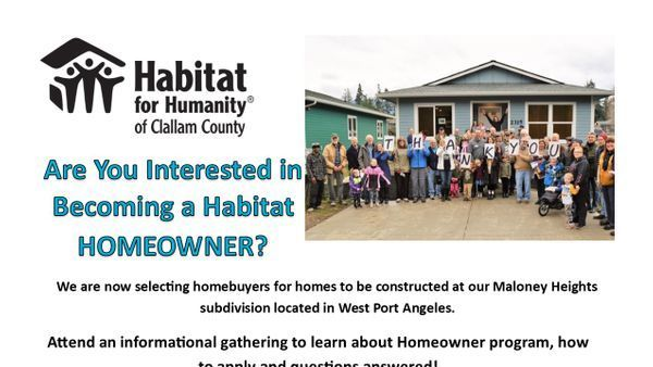 New Homebuyer Informational Meeting