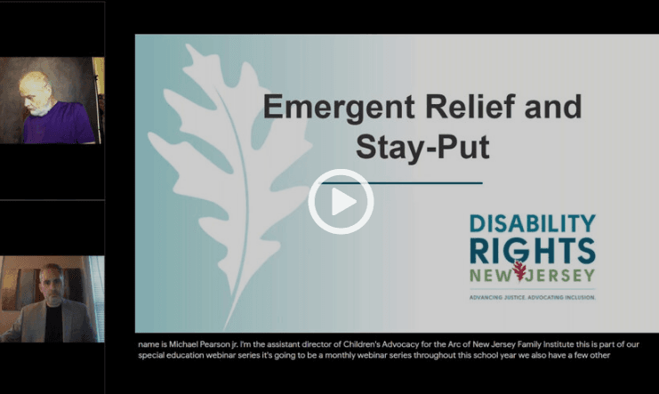 Filing Emergent Relief and Stay Put
