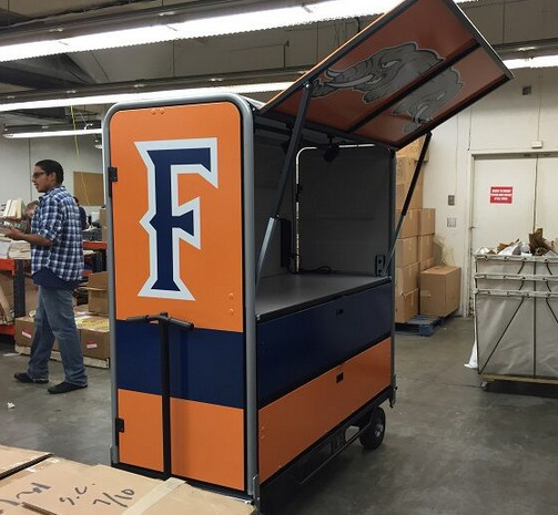 Wrap your concession stand in Orange County