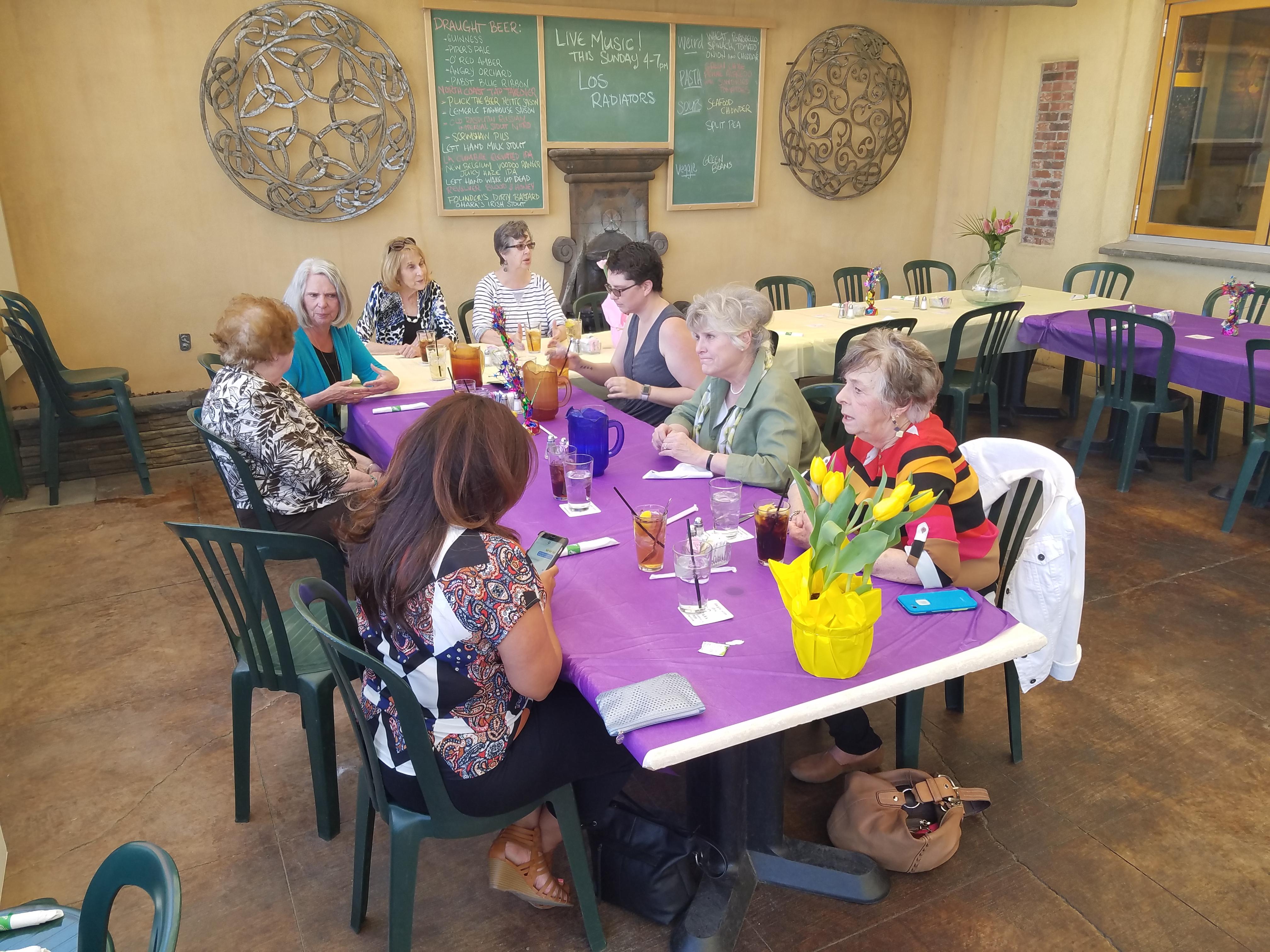 Volunteer Appreciation Lunch
