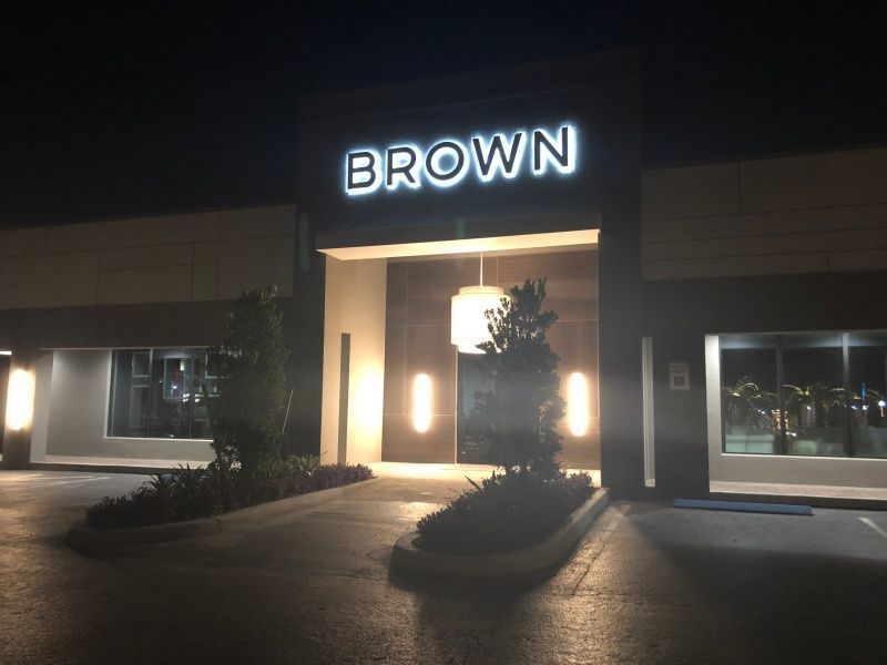 LED Building Signs