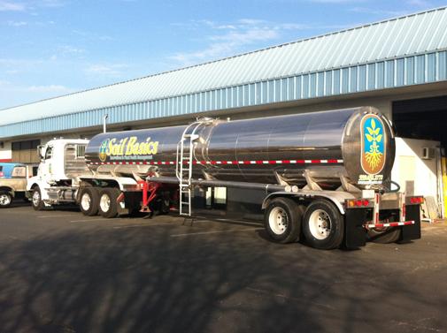 Soil Basics Tanker