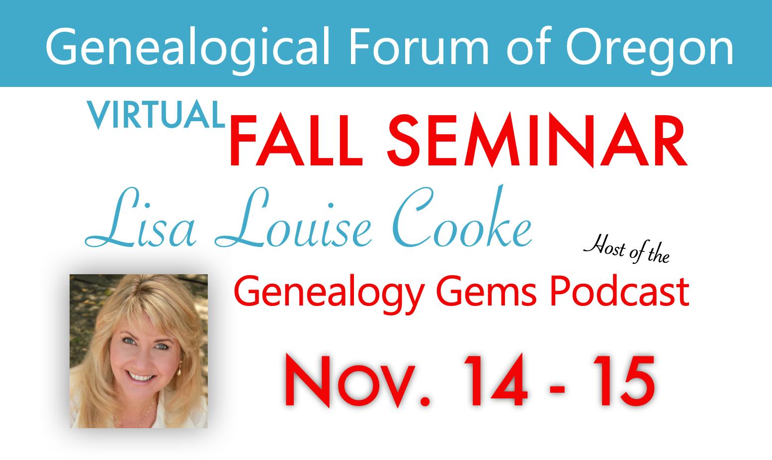 Fall Seminar