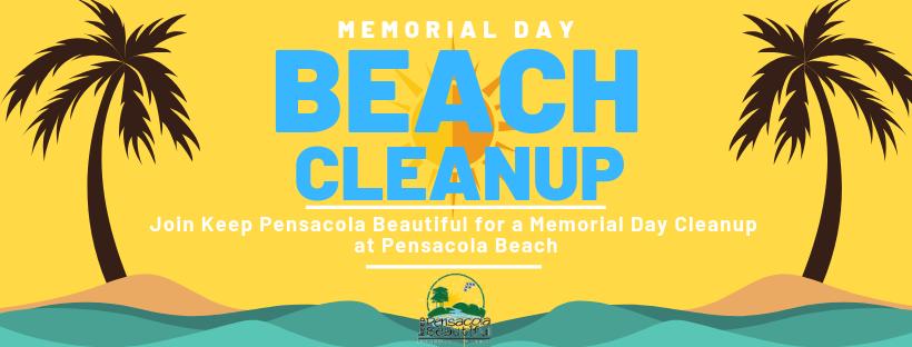 Memorial Day Beach Cleanup