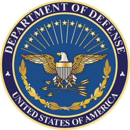 V31111 - Blue & Gold DoD Great Seal Wall Plaque