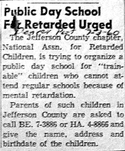 Public Day School Urged (ca.1960)