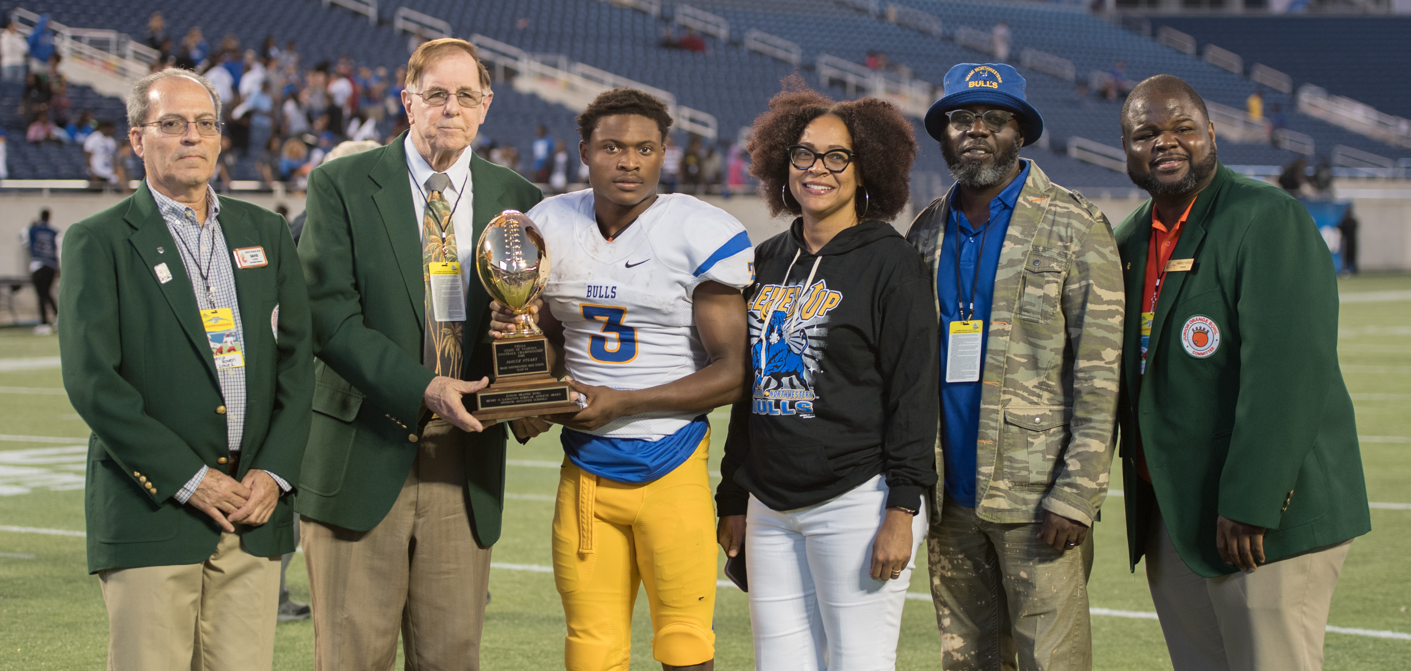 Junior Orange Bowl Honors Scholar Athletes at the FHSAA Football State Championships