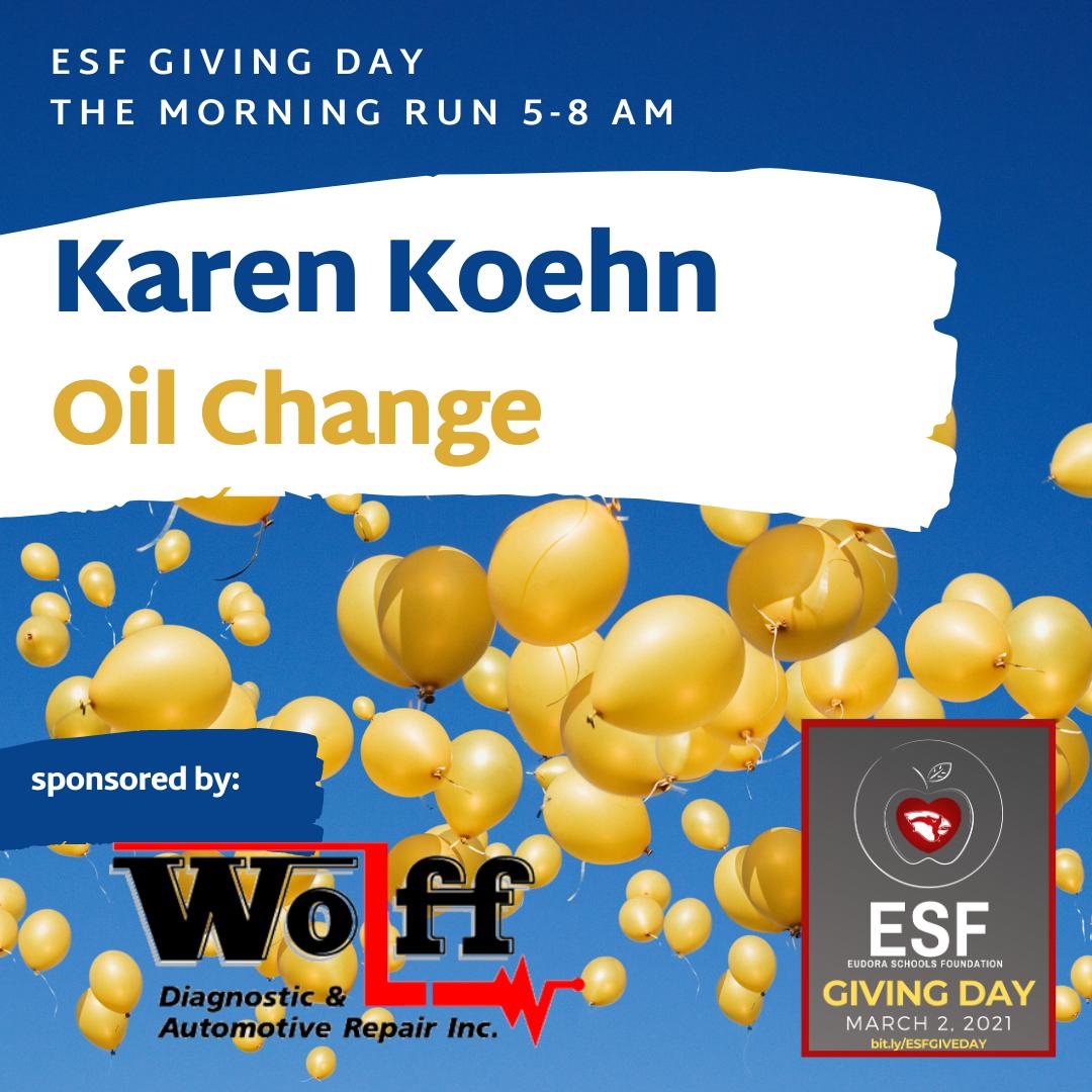 The Morning Run - Free Oil Change