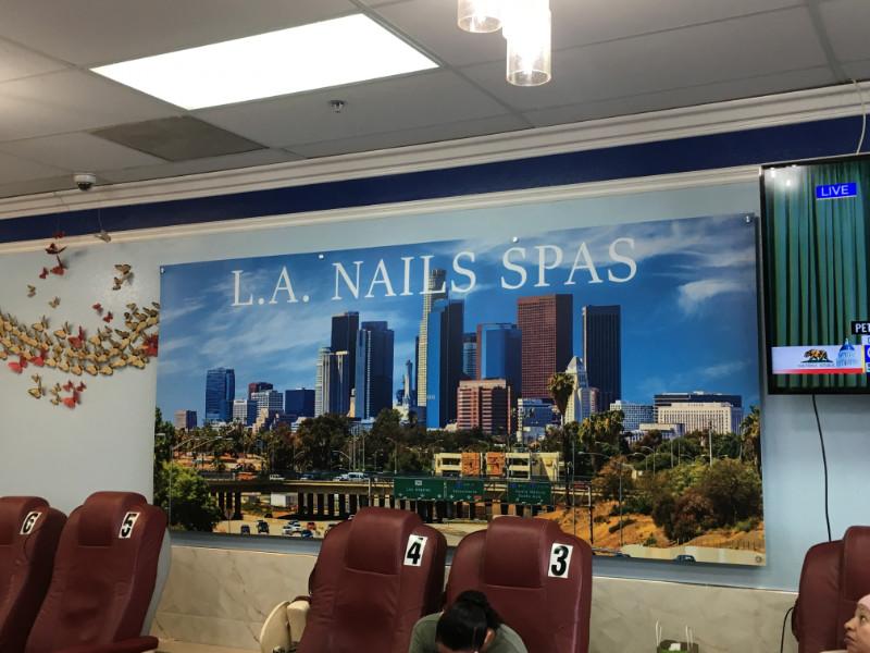 Custom designed wall art Los Angeles CA