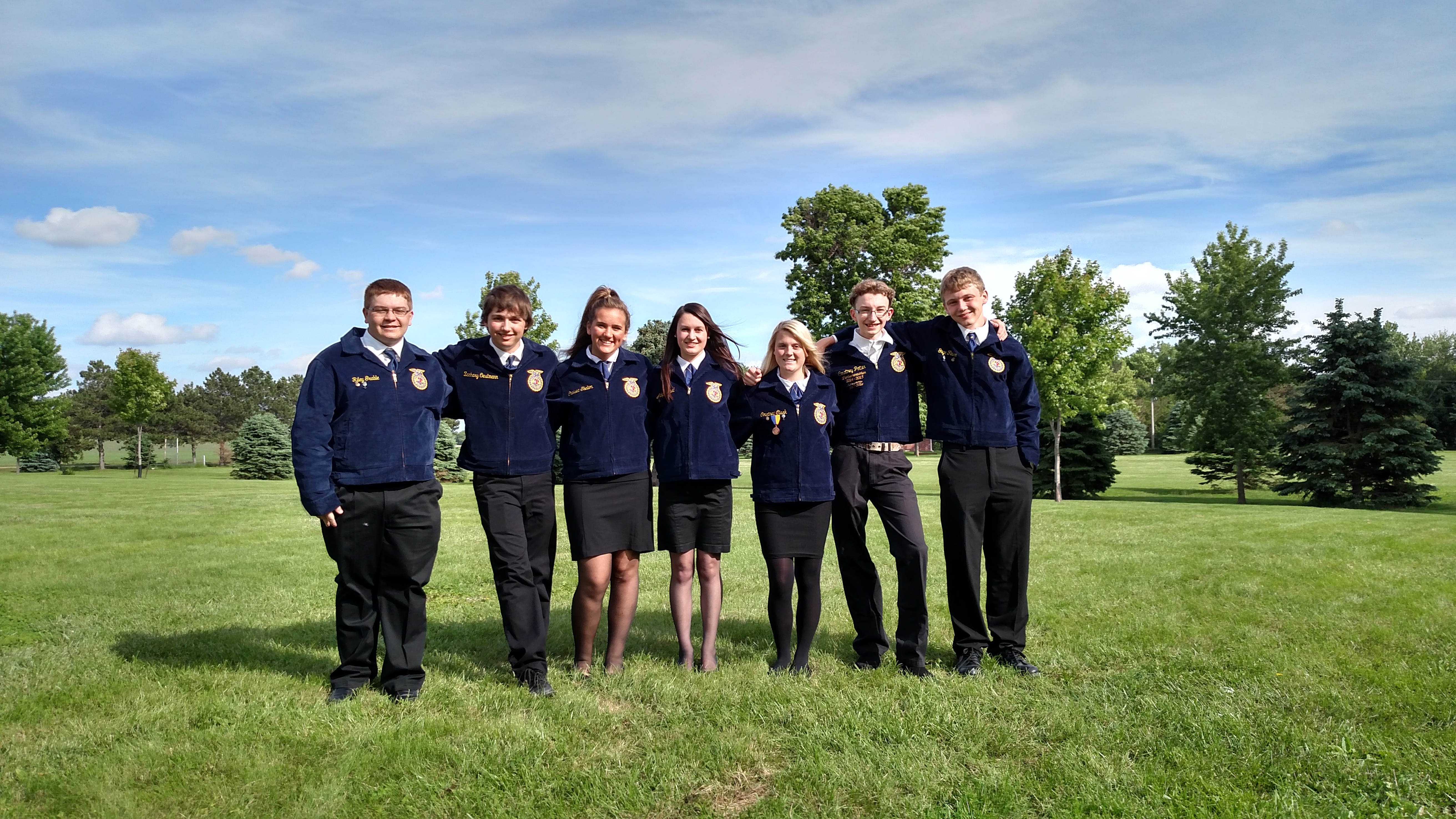 "Auburn FFA Starts Off Strong with ""I Believe"" Program"