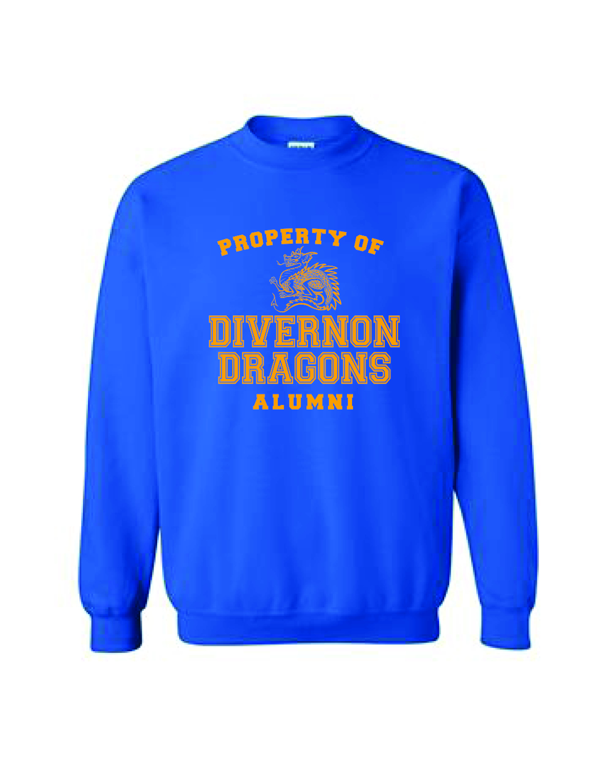CREW NECK SWEATSHIRTS - BLUE