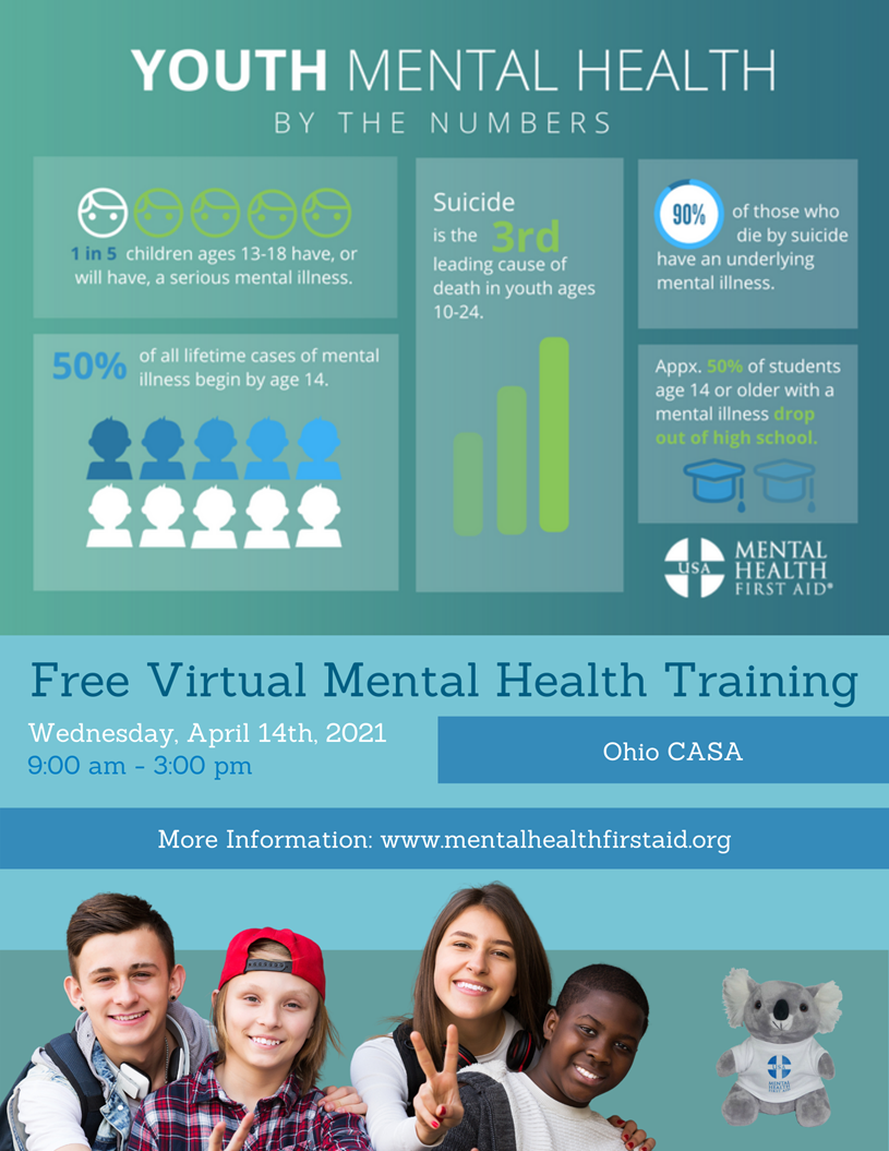 In-Service Training: Youth Mental Health by the Numbers