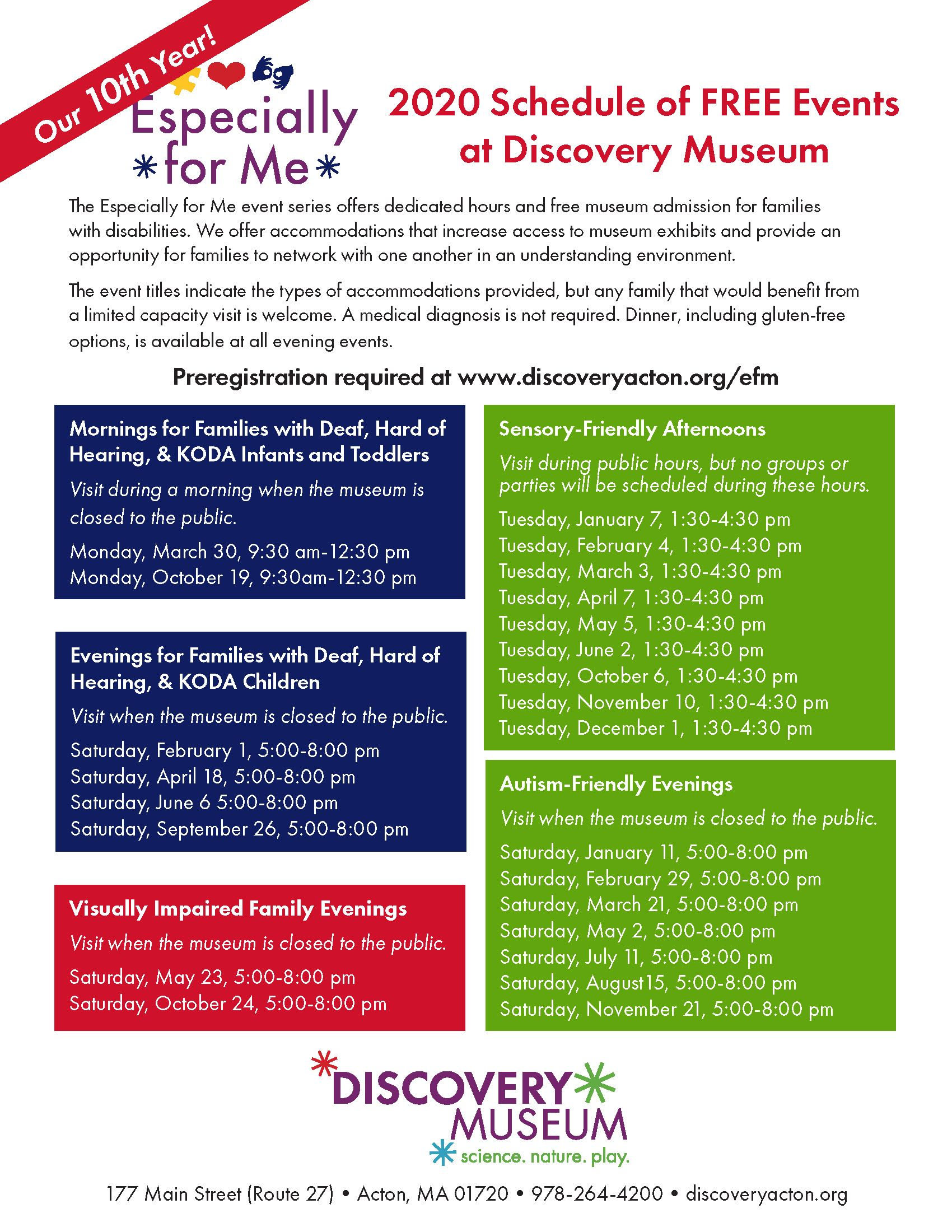 Evening for D/HH Kids at Discovery Museum