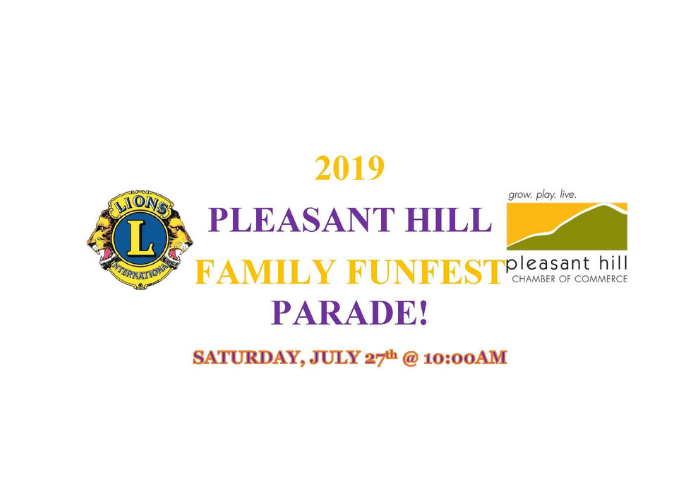 2019 Pleasant Hill Parade