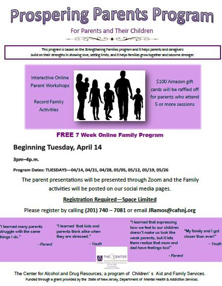 Prospering Parents (VIRTUAL)