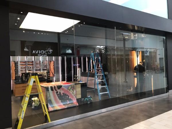 Window Graphics Mall Retailers Orange County