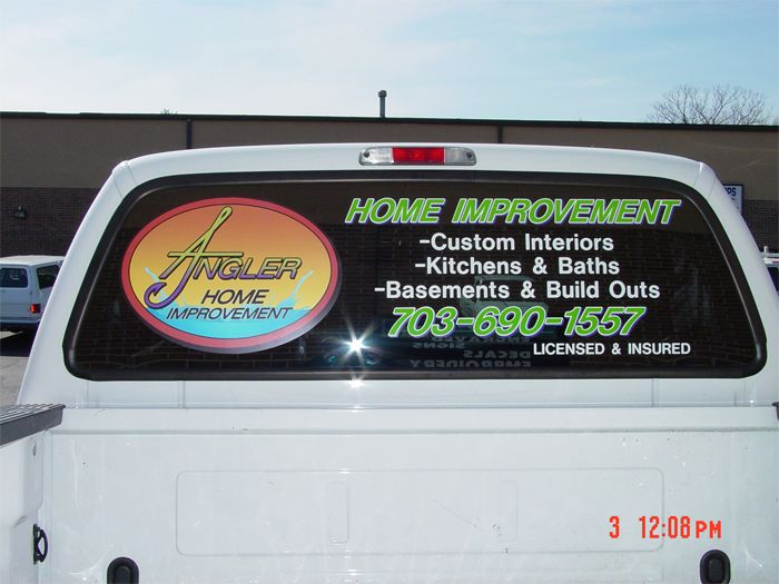 Angler Truck Graphics