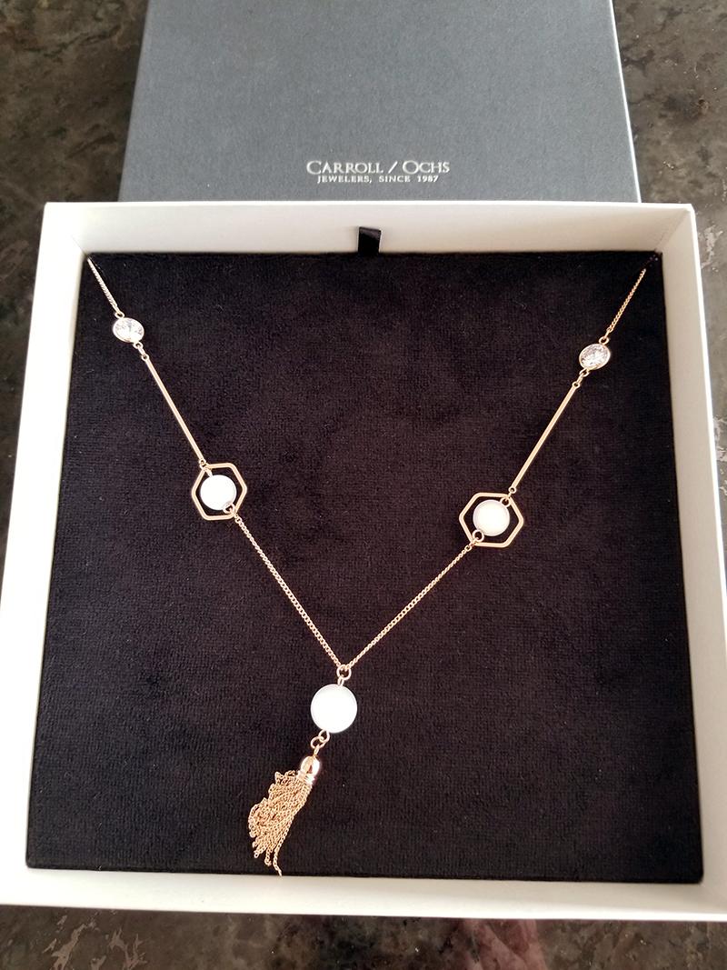 Bangle Drop Necklace