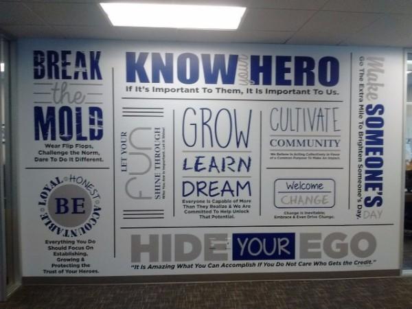 Wall Murals for Property Management Firms in Gilbert AZ