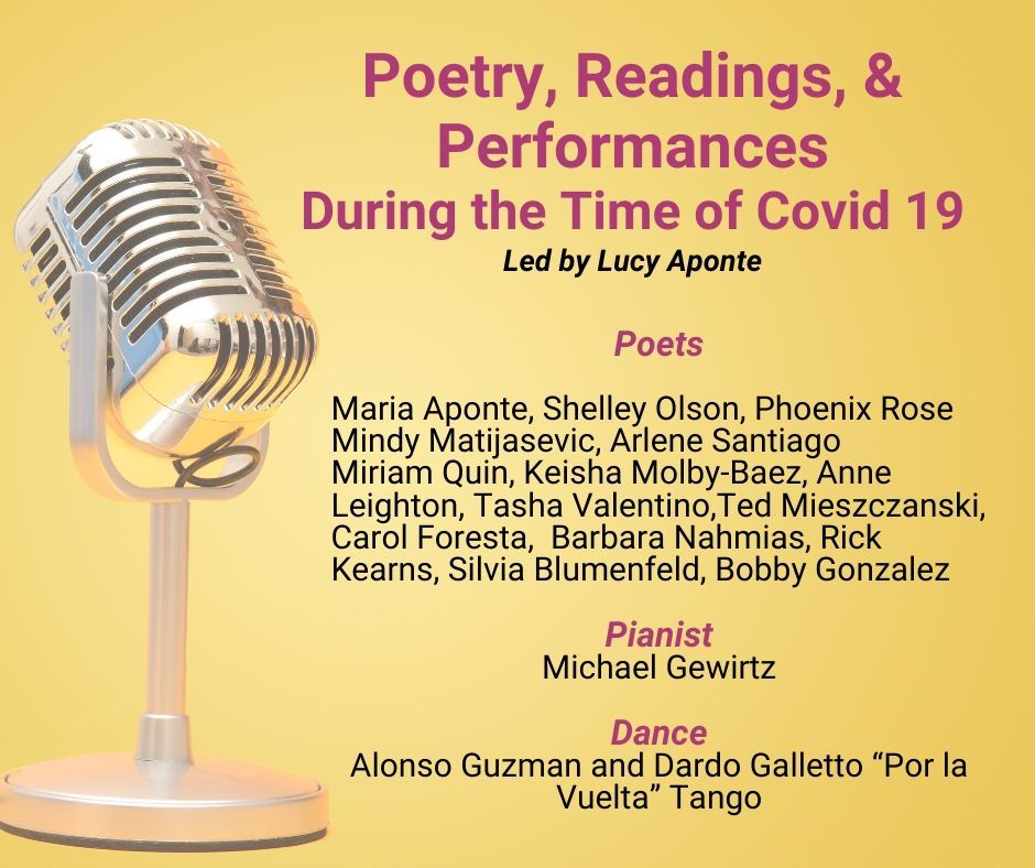 Poetry, Readings, Performances in the time of Covid