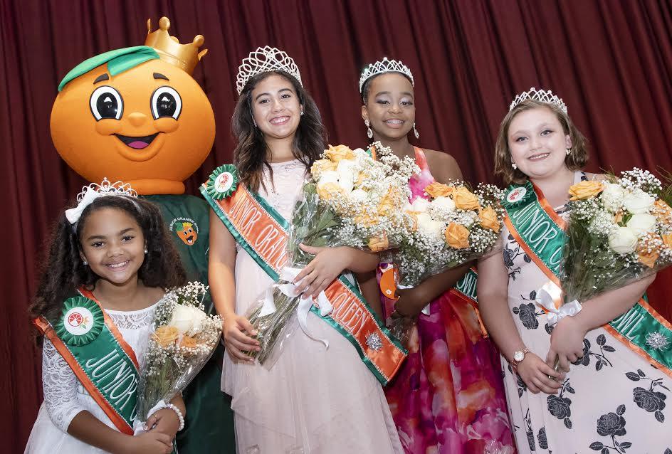 The Junior Orange Bowl Crowns New Royal Court