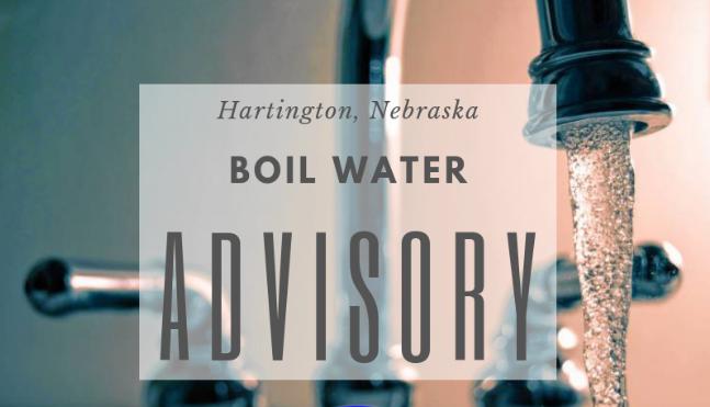 Water Boil Advisory Hartington