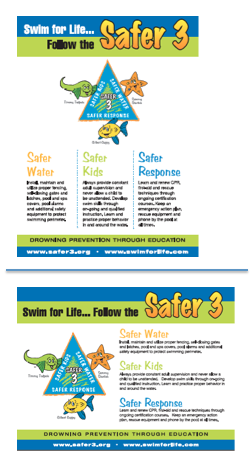 Safer 3 Posters