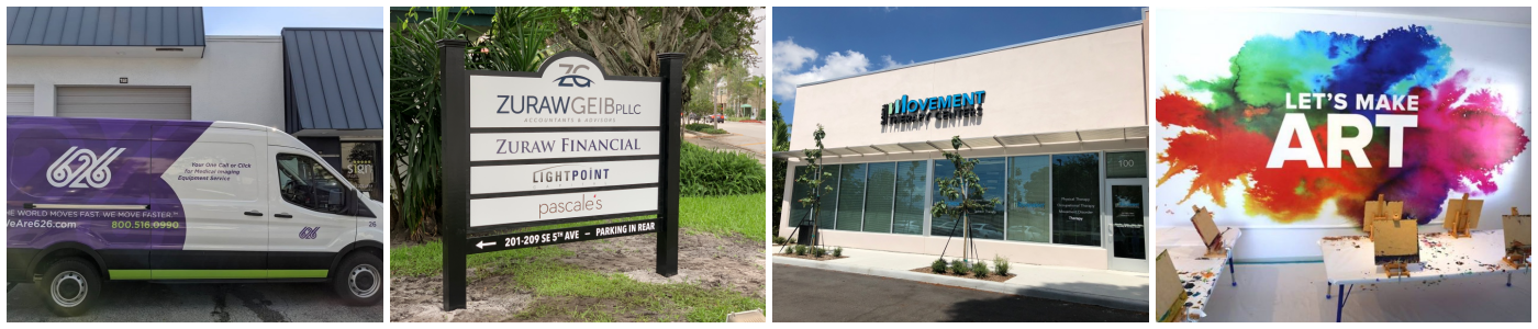 Best Sign Company - West Palm Beach - Custom Business Signs