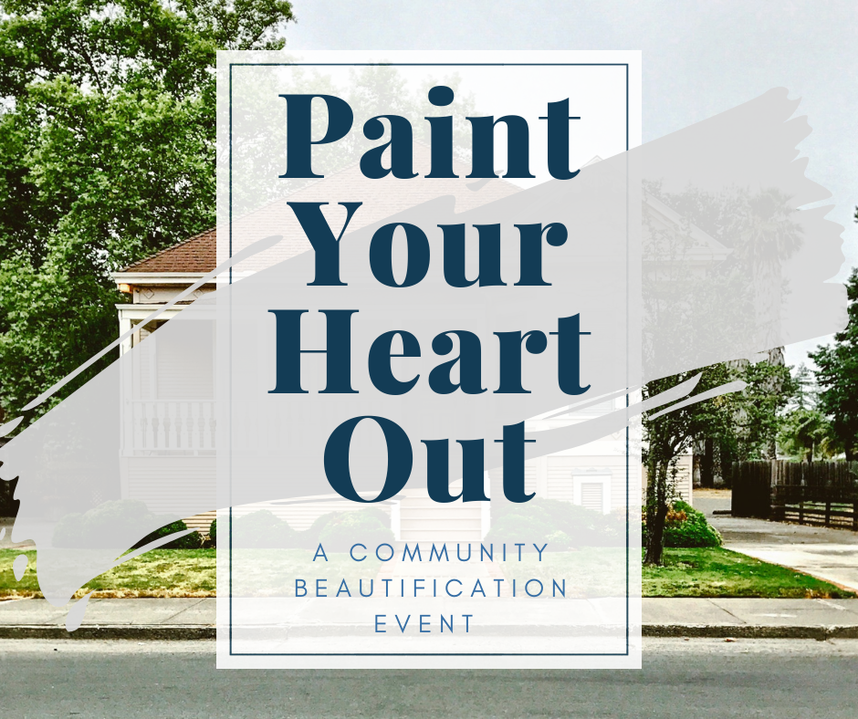 Volunteer for Paint Your Heart Out!