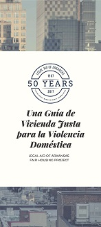 A Fair Housing Guide for Domestic Violence (Spanish)