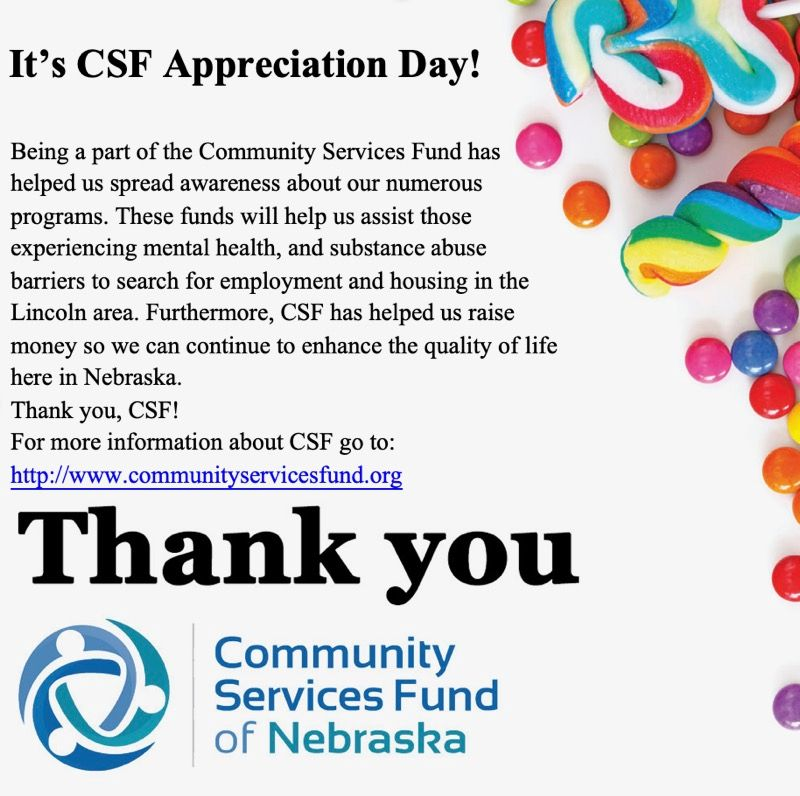 Thank You to CSF!
