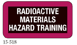 Radioactive Materials Hazard Training