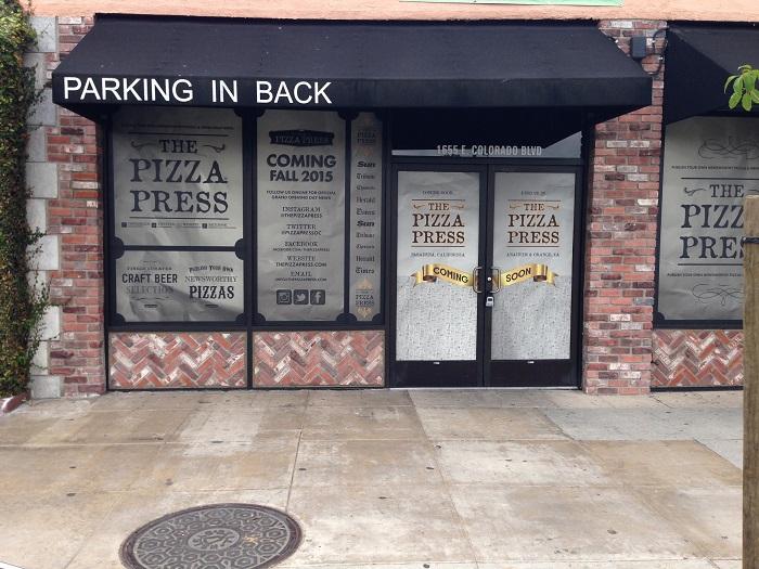 Window Wraps - Pizza