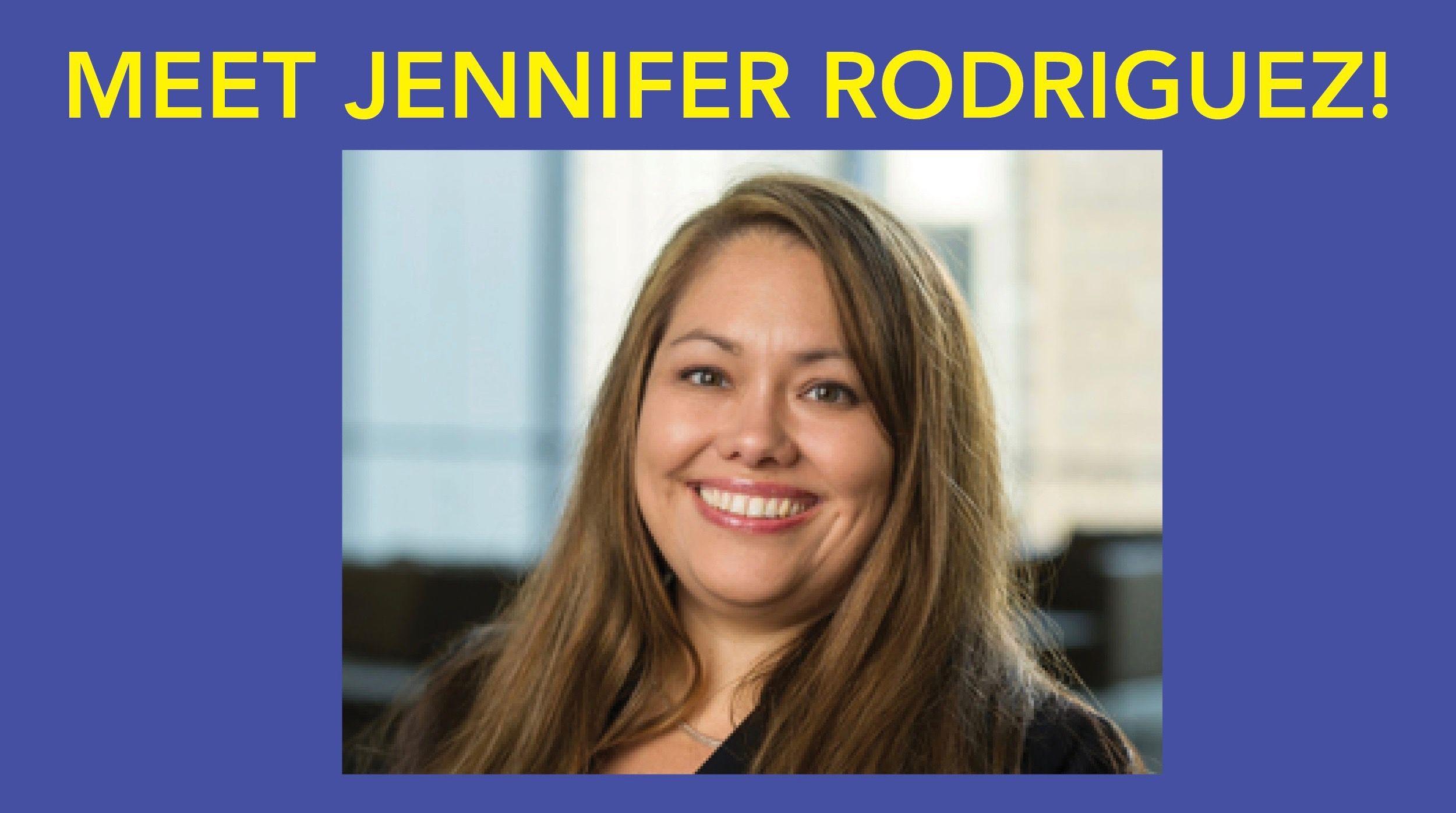 Meet Jennifer Rodriguez