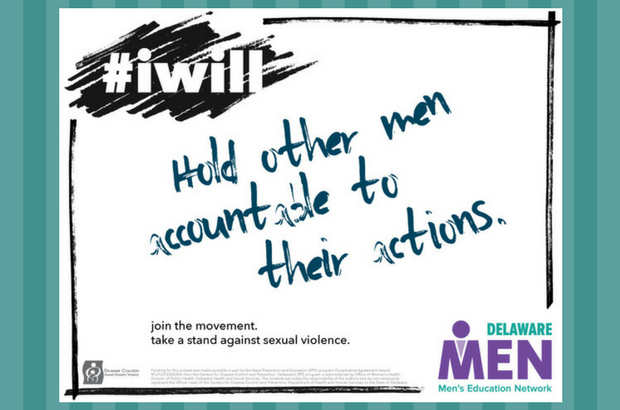 Join Delaware MEN in the movement to end sexual violence!
