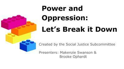 Power and Oppression: Let's Break It Down