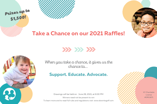 Take A Chance On Our 2021 Raffles