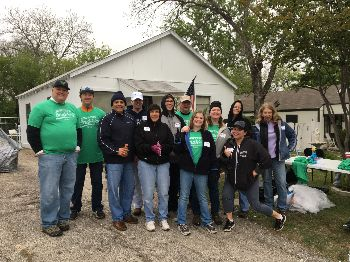 FUMC Members at Outreach Work Site