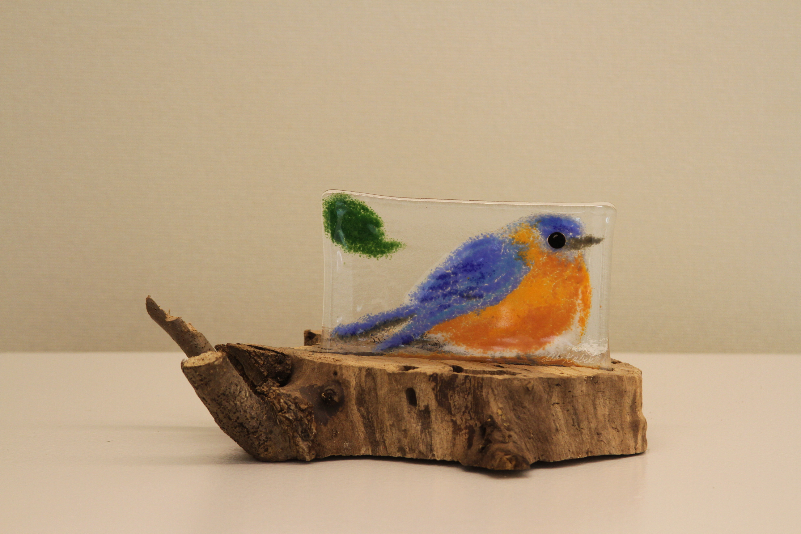 Blue Bird (on Stump)