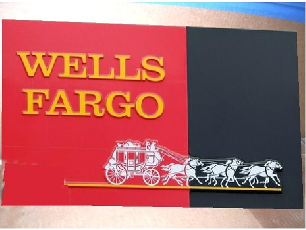C12214 - Wells Fargo Wall Sign