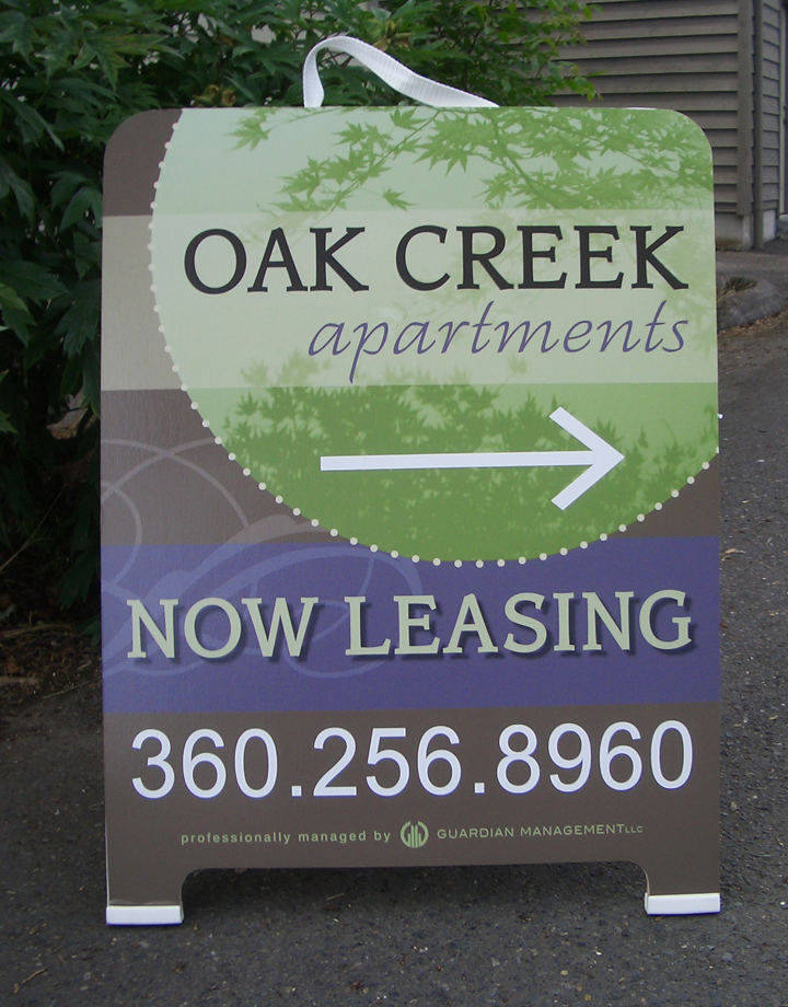 Oak Creek A-board A-board full color digital Print
