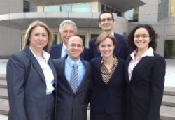 Michael Argenyi and his attorneys