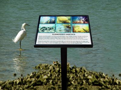 Park Identification Sign